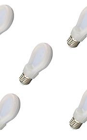 12W E26/E27 LED-globepærer PAR20 1 SMD 2835 1100LM lm Varm hvit / Kjølig hvit Dekorativ AC 85-265 V 5 stk.