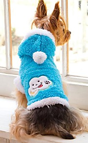 Lovely Keep Warm Cloud Patterns Pet Coat