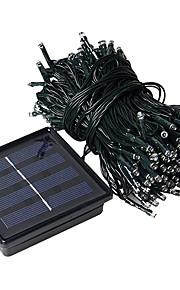 1pc 20m 200led lumière chaîne solaire pour le mariage de fête de Noël a mené l'éclairage de Noël