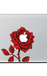 Red Rose Decorative Skin Sticker Decal for MacBook Air/Pro/Pro with Retina