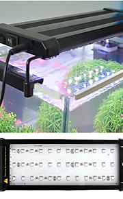 Akvariedekorationer / LED-belysning Multifärgad Metall 6W