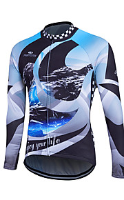 Sports Cycling Jersey Women's / Men's / Kid's / Unisex Long Sleeve BikeBreathable / Thermal / Warm / Quick Dry / Front Zipper /