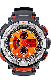 Masculino Relógio Esportivo / Relógio de Moda Digital LED / Calendário / Cronógrafo / Luminoso / Cronômetro / Noctilucente Borracha Banda