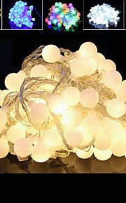 prise étanche décoration extérieure de vacances de noël lumière 10m 100 LED lumière de chaîne (220v)