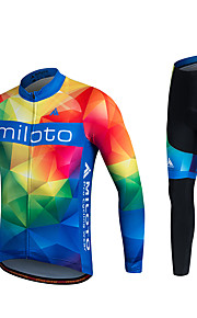 MILOTO Cycling Jersey Spring Autumn Long Sleeve  Breathable MTB Tracksuit Bicycle Clothes  Sportswear Ropa Ciclismo