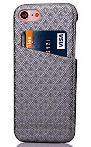 Per retro A portafoglio disegno geometrico Similpelle Difficile Copertura di caso per Apple iPhone 7 Plus / iPhone 7