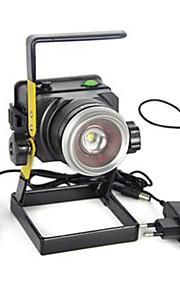Iluminação Lanternas e Luzes de Tenda LED 3000 Lumens 1 Modo Cree XM-L T6 18650.0 Super LeveCampismo / Escursão / Espeleologismo / Uso