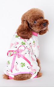 Psy Bluzy z kapturem Żółty / Niebieski / Różowy Ubrania dla psów Zima / Wiosna/jesień Britsh Modny / Codzienne / Sportowy /