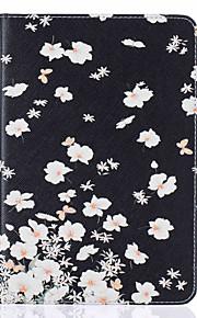 Für mit Halterung / Flipbare Hülle / Muster Hülle Handyhülle für das ganze Handy Hülle Blume Hart PU - Leder AppleiPad Mini 4 / iPad Mini