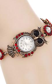 Mulheres Relógio de Moda / Relógio de Pulso / Bracele Relógio Quartz / / Punk / Colorido Lega BandaVintage / Desenhos Animados / Boêmio /