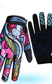 Luvas Esportivas Moto Dedo Total Mulheres / Homens Anti-Derrapagem / Mantenha Quente / Anti-desgaste / Reduz a Irritação Outono / Inverno