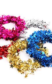 7,5 weding dekoration part använda Juldekorationer 7.5m tråd JULGIRLAND pentagram stjärna över stärkande hängande