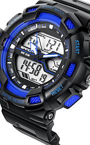 Casal Relógio Esportivo / Relógio Militar / Smartwatch / Relógio de Moda / Relógio de Pulso Digital / Quartzo JaponêsLED / Cronógrafo /