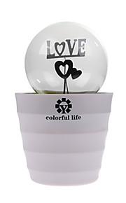 romatic soverom lampen ledet romantisk plante potten oppladbar lampe nattlys for barn gaver