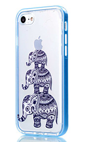 Per Custodia iPhone 7 / Custodia iPhone 6 / Custodia iPhone 5 Transparente / Fantasia/disegno Custodia Custodia posteriore CustodiaCon