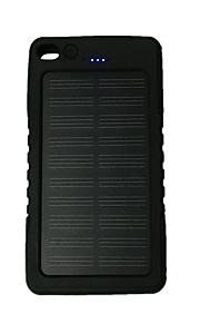 8000mAhבנק כוח סוללה חיצונית מטען סולרי / פנס 8000 Output :1000mA מטען סולרי / פנס