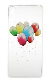 Para Funda Sony Transparente / Diseños Funda Cubierta Trasera Funda Globo Suave TPU Sony Sony Xperia X / Sony Xperia XA / Sony Xperia E5