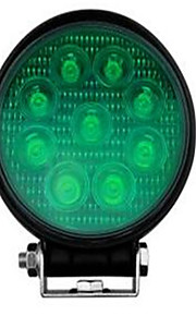 BOORIN Verkabelt Others Green green led work light led spotlights 27w lamp Schwarz