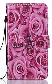 For Samsung Galaxy J5 J5(2016) Flower PU Leather Wallet
