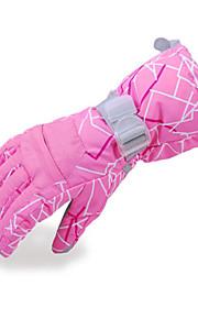 Full Finger / Rękawiczki zimowe Damskie / Męskie Keep Warm / Wodoodporny / Polarowa podszewka Narciarstwo / Snowboard L / XL / S / M
