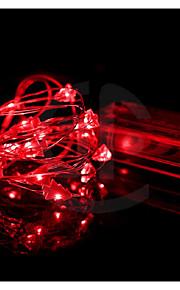 10m paars 100 geleide kerstster snaar licht 8 vonken modes (220v)