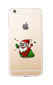 För Transparent / Mönster fodral Skal fodral Jul Mjukt TPU för AppleiPhone 7 Plus / iPhone 7 / iPhone 6s Plus/6 Plus / iPhone 6s/6 /