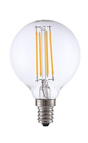 E12 LED-glødepærer G16.5 4 COB 350 lm Varm hvit Dimbar V 1 stk.