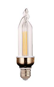 4W E26/E27 Dekorations Lys 2 COB 300-400 lm Varm hvit / Kjølig hvit Dekorativ V 1 stk.