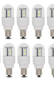 3W E14 / E12 LED-globepærer T 15 SMD 2835 385 lm Varm hvit / Kjølig hvit AC 220-240 V 10 stk.