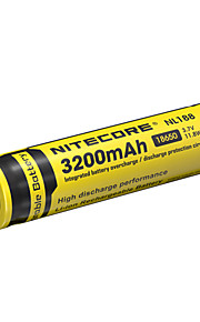 NITECORE NL188 3200mAh 3.7V 11.8Wh 18650 Li-ion Rechargeable Battery