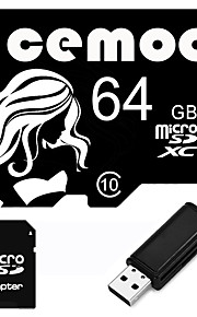 Other 64GB MicroSD Class 10 20 Other Multiple i en kortlæser / Micro SD-kortlæser / SD-kortlæser CEBY02 USB 2.0