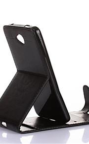 용 카드 홀더 / 스탠드 / 플립 / 엠보싱 텍스쳐 / 마그네틱 케이스 풀 바디 케이스 만다라 하드 인조 가죽 용 Nokia Nokia Lumia 640 / Nokia Lumia 630 / 노키아 루미아 535