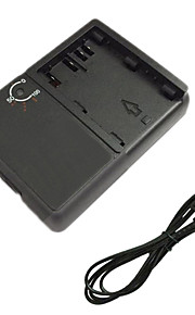 BP511 Battery Charger and EU Charger Cable for Canon BP511 EOS 300D 10D 20D 30D 40D 50D EOS 5D