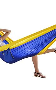 FENGTU® Outdoor Single Hammock 260*80cm Nylon Spinning Thin Parachute Special Cloth Student Dormitory Hammock Camping Hammock