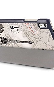 Oil Painting PU Leather Case for 8 Inch Huawei Honor Tablet 2 (JDN-AL00 and JDN-W09)