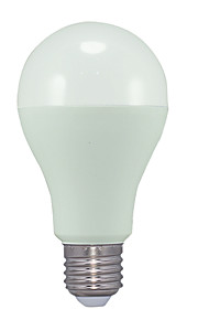 15W E26/E27 LED-globepærer A70 30 SMD 2835 1250 lm Varm hvit AC 220-240 V 1 stk.