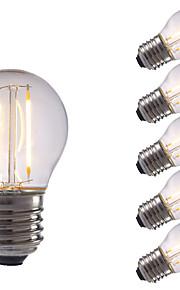 2W E26/E27 LED-glødepærer P45 2 COB 250 lm Varm hvit / Kjølig hvit AC 220-240 V 6 stk.