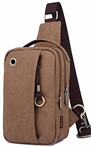 20 L Shoulder Bag Outdoor Wearable Black / Others / Army Green Canvas