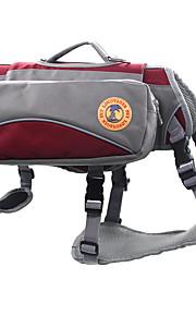 Hund Kofferter & Reise Ryggsekker / Dog Pack Kæledyr Transportbedrifter Reflekterende / Sammenleggbar Rød / Blå Oxford Stoff