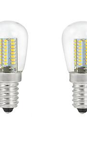 5W E14 LED-globepærer C35 104PCS SMD 3014 500 lm Varm hvit / Kjølig hvit Dekorativ AC 220-240 V 2 stk.