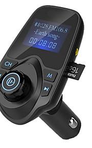 Hot Sale Bluetooth FM Transmitter Support TF Card U Disk Car Charger