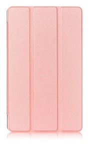 ensfarvet pu læderetui med søvn for 8,4 tommer Huawei media pad m3