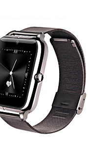 GSM Bluetooth Metal Smart Watch Waterproof Phone with Camera Pedometer Support TF SIM NFC HD IPS Z50 Smart watch for android ISO Sim-Kort