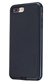 Für Staubdicht Hülle Rückseitenabdeckung Hülle Einheitliche Farbe Hart PC für AppleiPhone 7 plus / iPhone 7 / iPhone 6s Plus/6 Plus /
