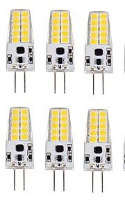 3W G4 LED-kornpærer T 20 SMD 2835 280-300 lm Varm hvit Kjølig hvit V 10 stk.