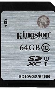 Kingston 64GB SD Card memory card UHS-I U1 Class10