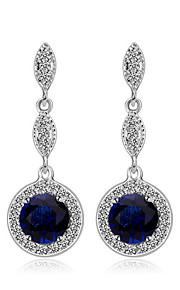 TEEMI Colorful AAA Zircon Earring Diamond Drop Earrings Fine Jewelry Women Wedding / Party Zircon 1 pair