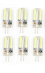 10 Pcs Trådbunden Others G4 64 led Sme3014 5W AC220-240 v 950 lm Warm White Cold White Double Pin Waterproof Lamp Övrigt