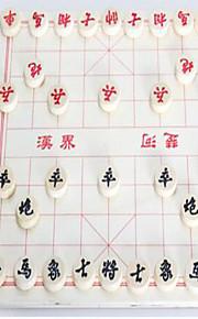 Bordspel / Chess Game / Educatief speelgoed voor Gift Bouwblokken Ontspannende hobby's Cirkelvormig / Vierkant Hout 2 tot 4 jaar Regenboog