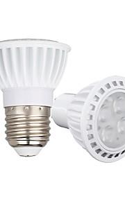 4W GU10 E26/E27 LED-spotlampen 4 SMD 3030 450-550 lm Warm wit Koel wit Dimbaar AC110 AC220 AC 85-265 V 1 stuks
